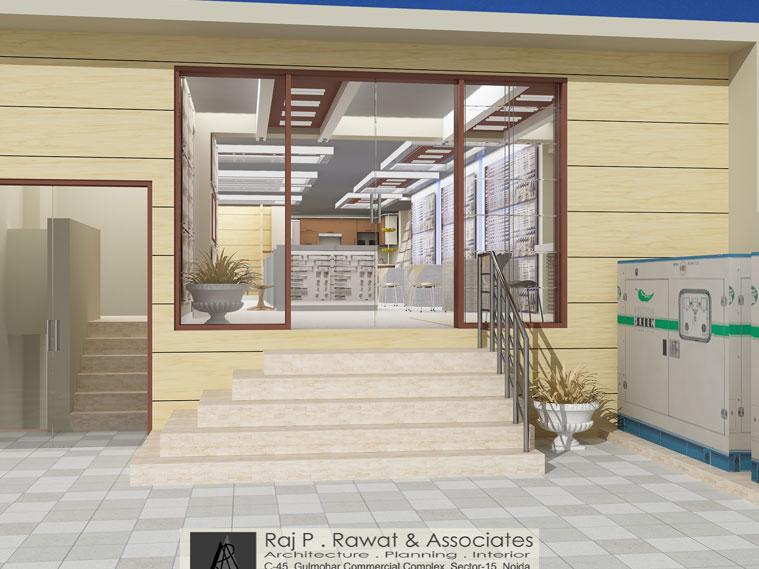 raj p rawat and associates noida architects interior designers